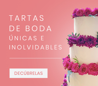 Tartas de boda únicas e inolvidables