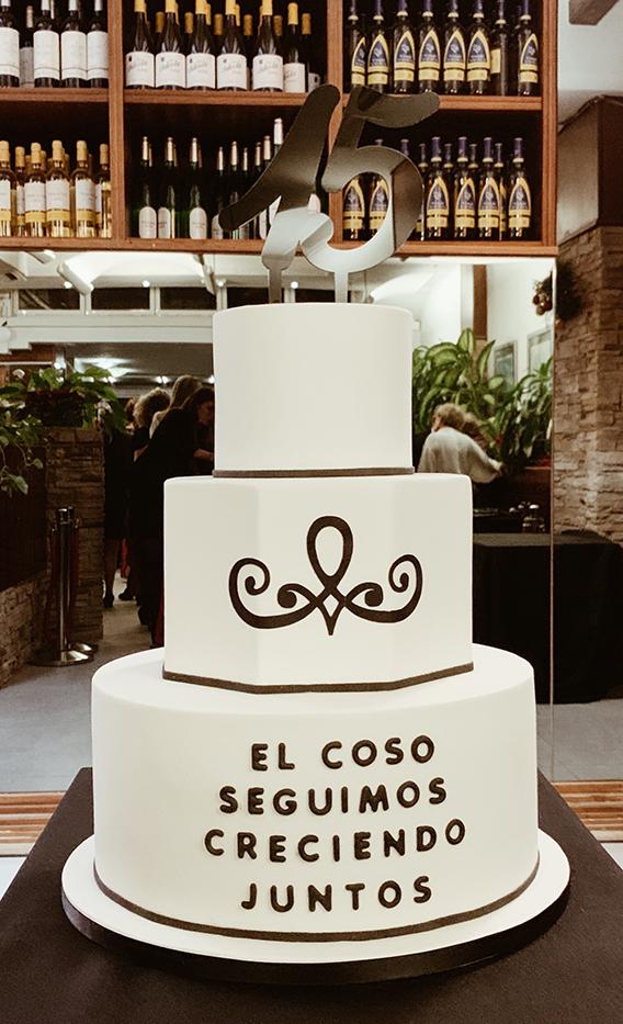 tarta de evento empresa